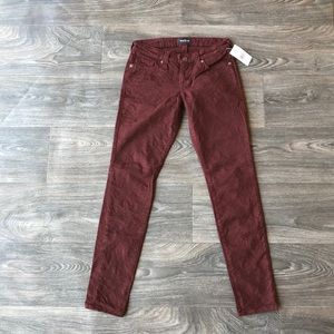Big Star Floral Brocade Skinny Jeans Size 26
